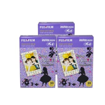 Harga Fujifilm Instax Mini Film Disney Alice in Wonderland 30pcs