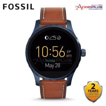 Harga FOSSIL Q Marshal Touchscreen Brown Leather Smartwatch FSLSWFTW2106