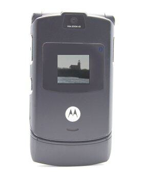 Harga (FACTORY REFURBISHED) Motorola V3 RAZR Grey