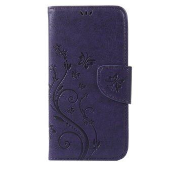 Harga Moonmini PU Leather Cover for Lenovo A319 (Purple)