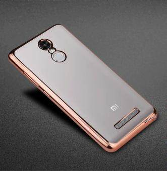 Harga UltraThin Gold Plating Soft TPU Skin Cover Clear Silicon Case For Xiaomi Mi Max Case 6.44inch Mimax Protective Shell