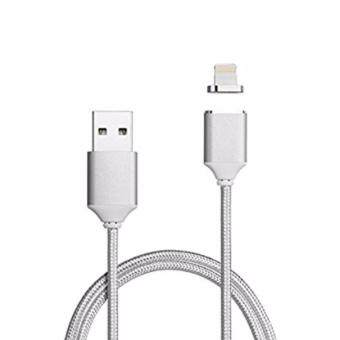 Harga High-Speed Magnetic Charging X-Cable Mini 2 Metal USB For iPhone 5 5s 6 6s Plus 7 7 Plus ( Gold / Silver )