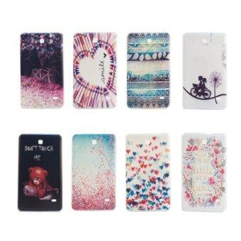 Harga SUNSKY TPU National Style Drawing Pattern Protective Case for Samsung Galaxy Tab 4 7.0 / T230 (Blue)