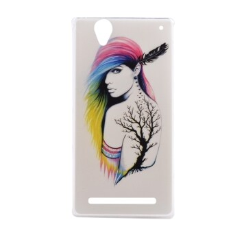 Harga Moonmini TPU Ultra-thin Soft Back Case for Sony Xperia T2 (Multicolor)
