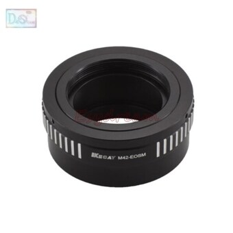Harga M42-EOSM Mount Lens Adapter Ring for M42 Lens for Canon EOS-M EF-M EOS M3 M2 M10 M5 M camera