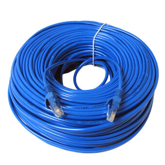 Harga 30m RJ45 Cat5 Ethernet LAN Network Ethernet Cable for PC Internet Router Blue