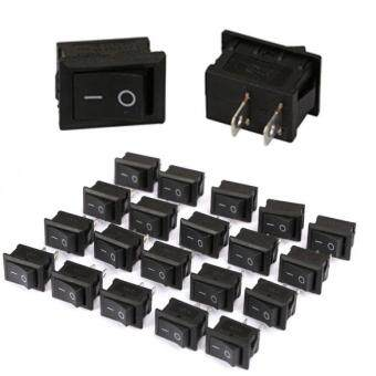 Harga 20PCS OFF/ON Boat Car Rocker Water Dispenser Switch Black