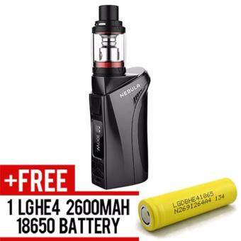 Harga Super Fast Marketing - Vaporesso Nebula Vaping Kit 100w (BLACK) Mod For Vape And Electronic Cigarettes + 1 LGHE4 YELLOW BATTERY