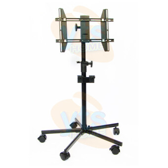 Harga LCD LED TV Stand With Locking Wheels