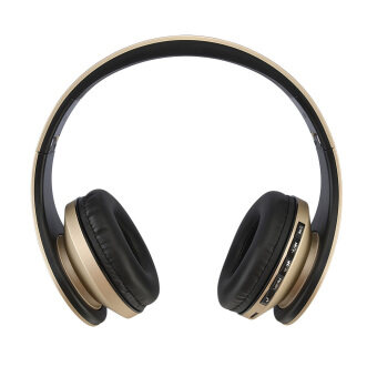 Harga Andoer LH-811 Wireless Bluetooth Noise Cancelling Headset (Gold)