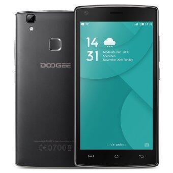 "Harga DOOGEE X5 MAX Smartphone 3G 5.0"" IPS HD Android 6.0 1G+8G 8MP+8MP Fingerprint Unlock Smart Gesture Black - Intl"