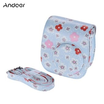 Harga Andoer PU Protective Camera Case Bag Pouch Protector for Fujifilm Instax Mini 8+/8s/8