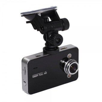 "Harga HD DVR HD1080p 30fps 2.4"" 120° Car DVR Vehicle Dash Camera Video Recorder Dash Cam G-sensor (Black)"
