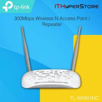 Harga TP-Link TL-WA801ND 300Mbps Wireless N Access Point Repeater