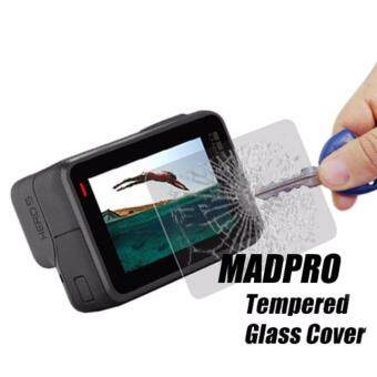 Harga (GENUINE) MADPRO TEMPERED GLASS ULTRA CLEAR LENS AND LCD SCREEN PROTECTOR FILM FOR GOPRO HERO 5 BLACK ACTION CAMERA ACCESSORIES