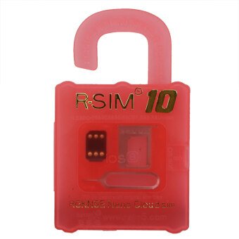 Harga R-SIM 10 RSIM Nano Cloud Card For iPhone 4S 5 5S 5C 6 Plus 2G 3G 4G LTE iOS 8.x