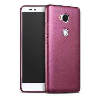 Harga X-LEVEL Guardian Series Matte TPU Protective Cover for Huawei Honor 5X / Honor Play 5X - Wine Red