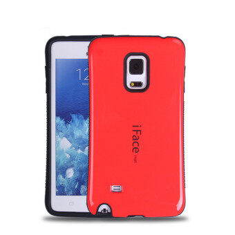 Harga iFace Heavy-Duty Shockproof Hard Case for Samsung Note Edge N9150 (Red)