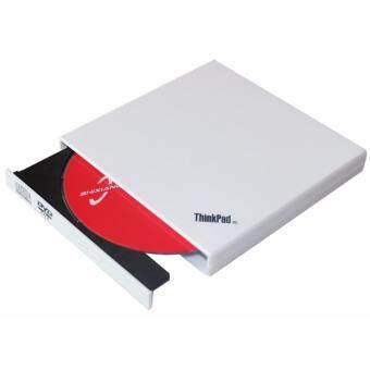 Harga IBM Lenovo Thinkpad USB Portable Slim External CD DVD Rom Burner Writer Drive (White)