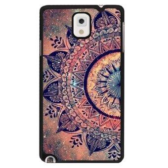 Harga Y&M Hot Sale Classics Style Flowers Phone Case for Samsung Galaxy Note 3(Multicolor)