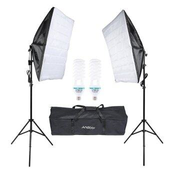 Harga Andoer Photography Studio Cube Umbrella Softbox Light Lighting Tent Kit Photo Video Equipment