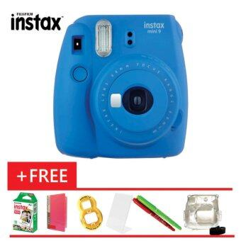 Harga Fujifilm Instax Mini 9 + Instax Film (10pcs) + Album + Close Up + Magic Pen + Crystal Case (Fujifilm Malaysia Warranty)