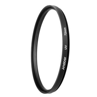 Harga Andoer 72mm UV Ultra-Violet Filter Lens Protector for Canon Nikon DSLR Camera