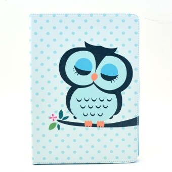 Harga Moonmini Lovely Cartoon Sleeping Owl Pattern Cover for Samsung Galaxy Note 10.1 2014 Edition P601 (Multicolor)