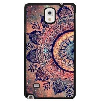 Harga Y&M Hot Sale Classics Style Flowers Phone Case for Samsung Galaxy Note 4(Multicolor)