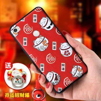Harga Creative soft silicone cartoon Phone Case For Xiaomi Mi Max/ Phone Cover/Shockproof Phonecase for xiaomi max /Phone Protector for mimax (1 X Soft TPU/Silicone​ Phone Case + 1 X Tempered Glass Film )