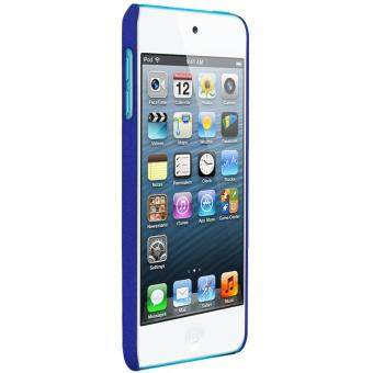 Harga IMAK Finger Ring Kickstand Matte PC Mobile Cover for iPod Touch 6 + Screen Protector - Blue