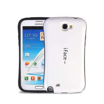 Harga iFace Heavy-Duty Shockproof Hard Case for Samsung Galaxy Note 2 (White)