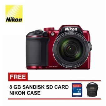 Harga Nikon Coolpix B500 Digital Camera (Red) Nikon Malaysia Warranty