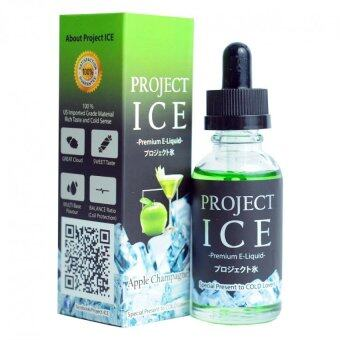 Harga Project Ice - Apple Champagne - 30ml (6mg) (No Alcohol) Extreme Cold E-Liquid E-Juice Flavor Vape E-Cigarette