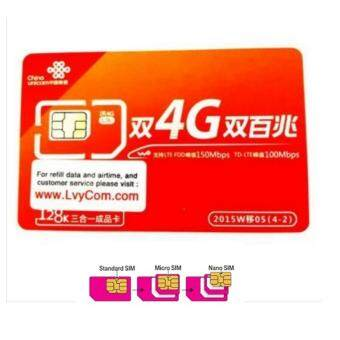 Harga CHINA UNICOM 中国聨通- PREPAID SIMCARD FOR TRAVELLER
