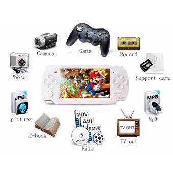 Harga 2017 Hot Portable Handheld Game Console 4gb built in 1000+ Games Video Games Support Camera MP3 Player(White)