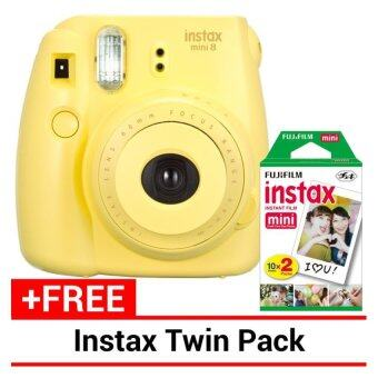 Harga Fujifilm Instax Mini 8 Instant Camera (Yellow)