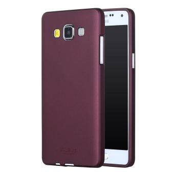 Harga X-LEVEL Guardian Series Matte TPU Case Cover for Samsung Galaxy A5 SM-A500F - Wine Red