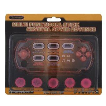 Harga Multi Stick Crystal Cover Advance Pink for PSP-2000