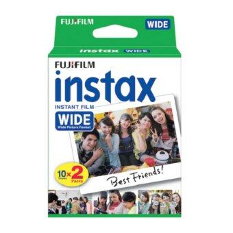 Harga Fujifilm Instax Wide Plain Film (20pcs)