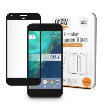 Harga Orzly U.K.2.5D Pro-Fit Tempered Glass Screen Protector for Google Pixel (Full Coverage Black)