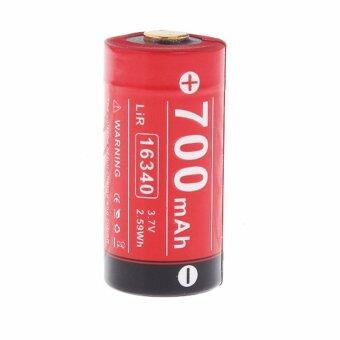 Harga Klarus LiR 16340 (RCR123) Li-ion 700mAh Performance Rechargeable Battery