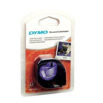 Harga DYMO DY-TP-12267/721530 Personal Label Maker Black on Transparent LetraTag Plastic Tapes