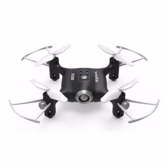 Harga Syma X20 2.4G 4CH 6Aixs Headless Mode Altitude Hold Mode RC Quacopter RTF (BLACK)