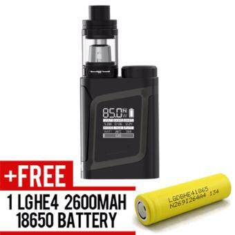 Harga Super Fast Marketing - Smok AL85 Kit (Black) Mod For Vape And Electronic Cigarettes + 1 LGHE4 YELLOW BATTERY