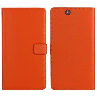 Harga Moonmini Leather Flip Cover for Sony Xperia Z Ultra (Orange)