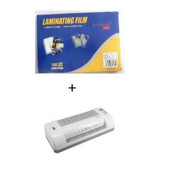 Harga DELI LAMINATOR MACHINE 3893 + LAMINATE FILM A4