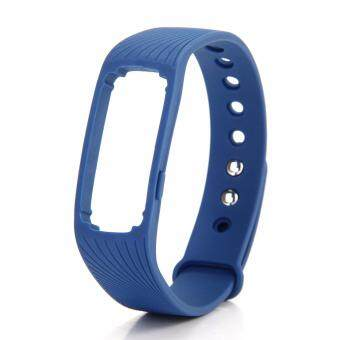 Harga Original Makibes ID107 Replacement Wrist Strap Wearable Wristband - Blue