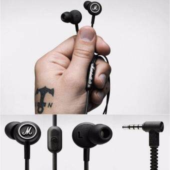 Harga Marshall Mode Earphones Headphones In-Ear Earbuds Microphone Remote Stereo