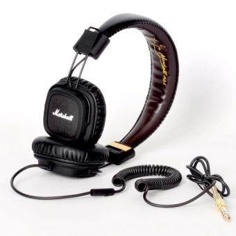 Harga Marshall Professional DJ Hi-Fi Studio Over Ear Headphone with Mic